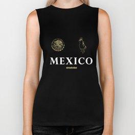 Streetwise Narco Polo Mexico Chicano Pancho Villa Streetwear Skeleton T-Shirts Biker Tank