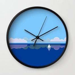 Shore. Wall Clock