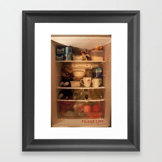 Fridge Candies  3   [REFRIGERATOR] [FRIDGE] [WEIRD] [FRESH] Framed Art Print