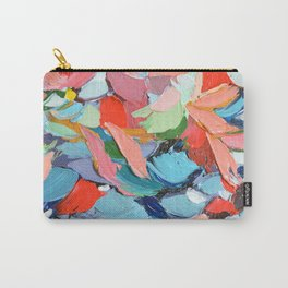 Winter's Bouquet Carry-All Pouch
