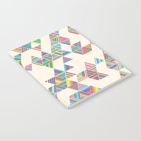 Rainbow Rain Notebook