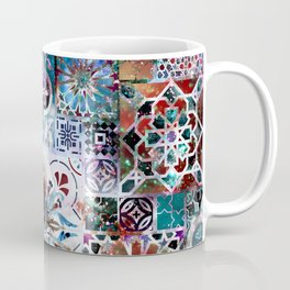 Celestial Tile Pattern Coffee Mug