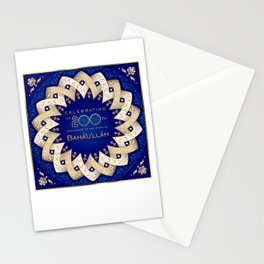 Bicentennial Graphics - woven star Stationery Cards