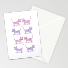 Pinky Cat Stationery Cards
