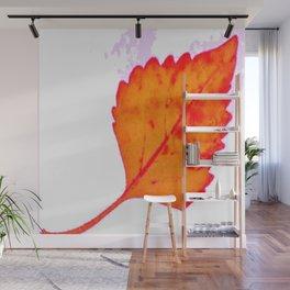BE LIKE A LEAF #8 Wall Mural