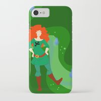 merida iPhone & iPod Cases featuring Merida by Eva Duplan Illustrations