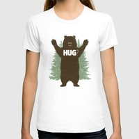 hug T-shirts featuring Bear Hug? by Fanboy30