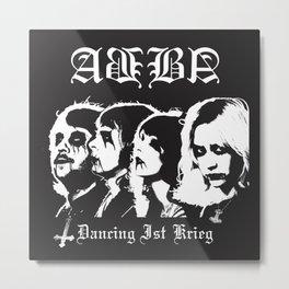 Dancing Krieg Metal Print