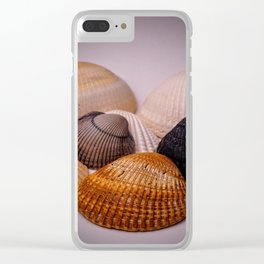 Different color shell Clear iPhone Case