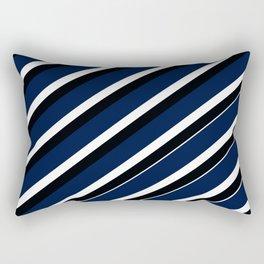 Team Colors 1...navy Rectangular Pillow