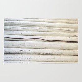 Wire on Wood Rug