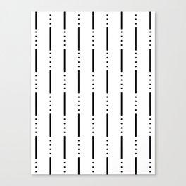 Morse Code #159 Canvas Print
