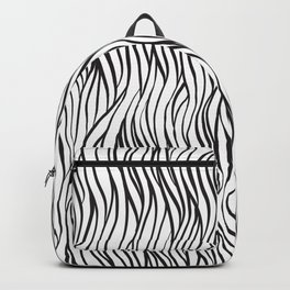 Curly grasses Backpack