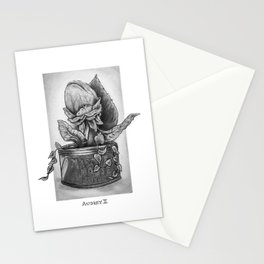 Audrey II. Little Shop of Horrors Stationery Cards