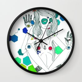 Phantasmagorique Wall Clock
