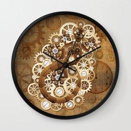 SteamPunk Lizard Wall Clock