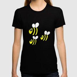 childishly Hand drawn bee T-shirt