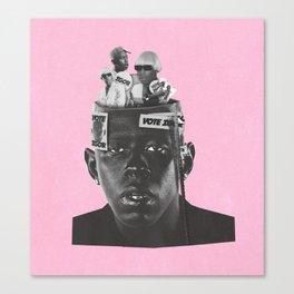 The mind of IGOR Canvas Print