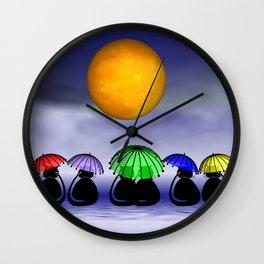 mooncats -7- Wall Clock