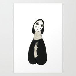 Oh so lady Art Print