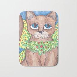 Big Eyed Fairy Cat Bath Mat