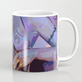 Purple Heat Coffee Mug