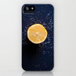 Lemons and Poppyseeds iPhone Case