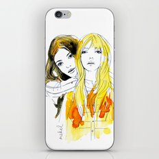 E and Gabrielle iPhone & iPod Skin
