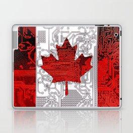 circuit board Canada (Flag) Laptop & iPad Skin