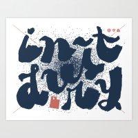 utah Art Prints featuring Utah by Cardon Webb