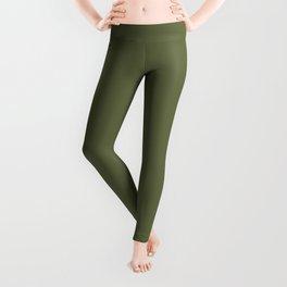 Exquisite Spring Gift ~ Soft Olive Green Leggings