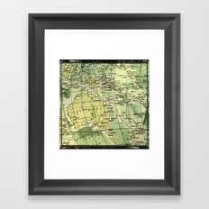 Oz Land Framed Art Print