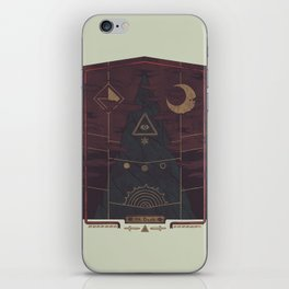 Mount Death iPhone Skin