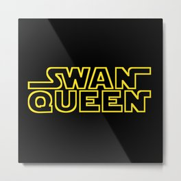 MAY THE SWEN BE WITH YOU Metal Print