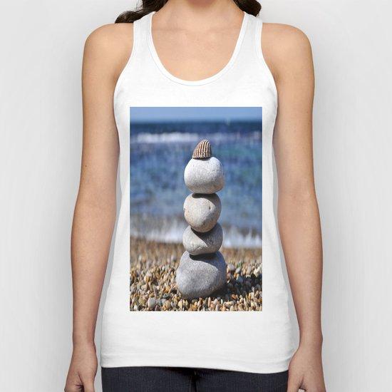 pyramid of stones Unisex Tank Top