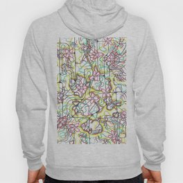 Three Leaves on the Cherry Blossom Hoody