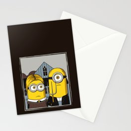 Minion Gothic Stationery Cards
