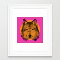 eric fan Framed Art Prints featuring Wild 7 by Eric Fan & Garima Dhawan by Garima Dhawan