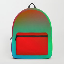 Ombré Colorful Multicolor Gradient / GFTgradient028 Backpack