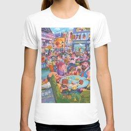 Terace BP soft colors T-shirt