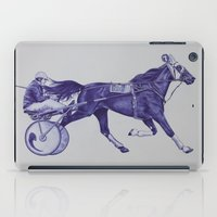 sport iPad Cases featuring Sport Horses by Tosasmok