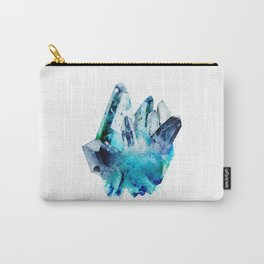 Watercolor Gemstone Carry-All Pouch