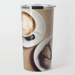 Cappuccino & Brioche Travel Mug