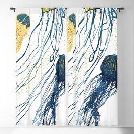 Metallic Jellyfish II Blackout Curtain