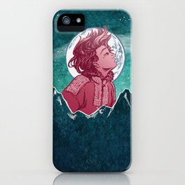 The Astronomer Who Met The North Wind iPhone Case