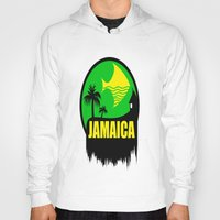 jamaica Hoodies featuring JAMAICA VACATION  by Robleedesigns