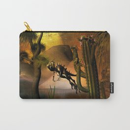 Funny little dinosaur Carry-All Pouch