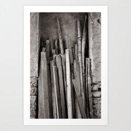 Ancient Woods Art Print
