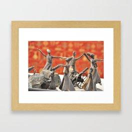 dancing in style Framed Art Print