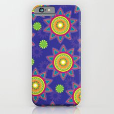 Moroccan Flower Purple iPhone 6s Slim Case